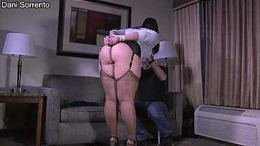 Tied Up Seducing My Step-Uncle - A Dani Sorrento and Steve Villa bondage clip